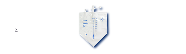 Bellovac ABT Product Range Exchange drainage bag